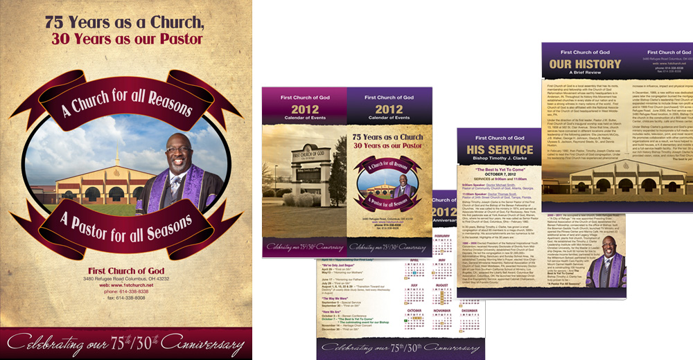Church Calendar Design.Webphotographix Corporate Identity And Event Branding