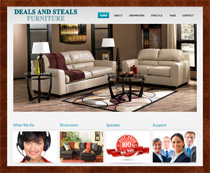 Webphotographix Design - Payless Furniture Website