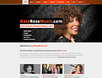 Webphotographix Design -  Kate Ross Music Website