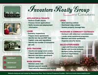 Webphotographix Design -  Investors Reality Group Website